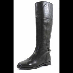 Lauren Ralph Lauren Berna Black Knee High Boot 9.5